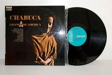 CHABUCA GRANDA - Grande de América - LP  EX VG++  RCA Camden España 1973
