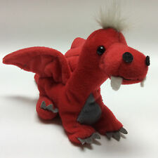 "Zangeen Red Dragon Plush - 9"" Red Dragon Beanbag Plush - Dragon Stuffed Animal"