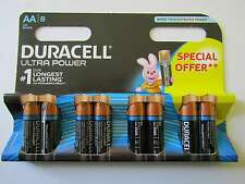 8x AA Ultra Power Alkaline Batterie Duracell AR1150