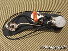 Upgrade wiring pre-wired fits Fender P Bass Precision CTS pots Orange Drop cap