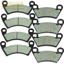 Front + Rear Carbon Kevlar Brake Pads - 2009 Polaris 700 Ranger 4x4 EFI