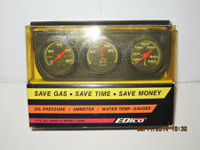 EDICO VINTAGE TRI-GAUGE SET, BRAND NEW IN SEALED PACKAGE, NEVER OPENED-FREE SHIP