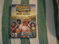 Cradle of Egypt - Collection (PC, 2013) Four classic games, Rated E for Everyone