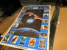 """E.T. Collage Poster , 1982 , 23"""" X 35"""" , Good Condition"""