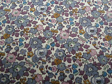Liberty of London Tana Lawn Fabric 'Betsy Ann' 3.75 METRES  (375cm) x 136cm