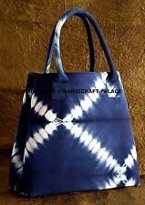 Indian Bag Women Shoulder Bag Tote Handbag Purse Messenger Canvas Tie Dye Bag