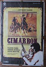Used - Cartel de Cine  CIMARRON Vintage Movie Film Poster - Usado