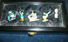 DISNEY DONALD DUCK PEWTER SET Limited Edition 1000