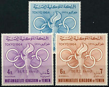 Yemen 1964 SG#R52-4 Olympic Games MNH Set #D33829
