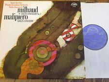1 10 1120 Milhaud / Malipiero Violin Concertos / Gertler