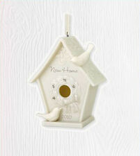 2010 Hallmark Porcelain BIRDHOUSE Ornament NEW HOME *Priority Shipping*