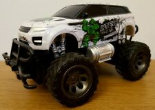 MONSTER TRUCK RANGE ROVER EVOQUE Radio Remote Control Car  FAST SPEED 1:24 WHITE
