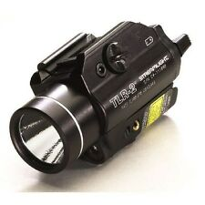 New! Streamlight TLR-2 Weapon Mounted C4 LED Light with Red Aiming Laser 69120