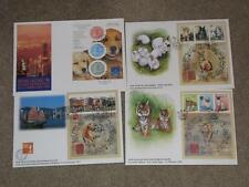 New Zealand,  Year of Rabbit, Year of Tiger, Hong Kong 97, 94, S/S Shts on Cover