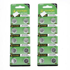 20 PCS AG10 / 389A / LR1130 / LR54 Alkaline Button Cell Watch Battery 1.5V