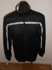STARTER MEN'S BLACK ZIP UP JACKET SIZE SMALL