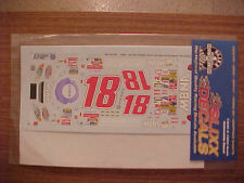 NEW 2003 BOBBY LABONTE #18 ADVAIR DISKUS 1/24 SCALE  WATER SLIDE DECAL SHEET