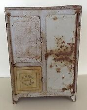 Henry Katz & Co. Inc Play House No. 42 tin refrigerator dollhouse miniature