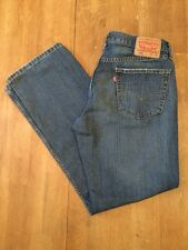 Levis 559 Relaxed Straight Leg Mens Jeans Tag Size 33x32 EUC Dark Wash . (B)