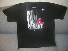 Boston Red Sox 2013 World Champions - We Own the Parade T-Shirt - XL NWT