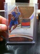 DEMARCUS ROBINSON 2016 IMMACULATE GAME-WORN FLORIDA GATORS LOGO JERSEY /30!!!!!!