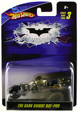 Hot Wheels Batman The Dark Knight Bat-Pod Diecast 1/50 Series 3 New
