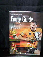 SUN HEARLD 2011 FOOTY GUIDE - NRL - UNION - AFL