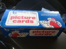 Topps 1989 500 Count Baseball Picture Cards Vending Pack New Unopened