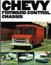 1977 Chevy FORWARD CONTROL CHASSIS TRUCK Brochure: P10,P20,P30,P-10,20,30