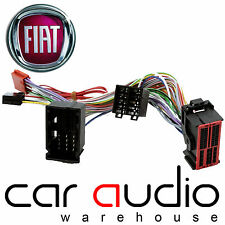Fiat 500 2015 On Bluetooth Parrot SOT T-Harness ISO Adaptor Connects2 CT10FT05