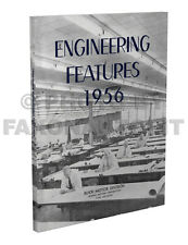 1956 Buick Engineering Features Manual Reprint Special Super Roadmaster Century