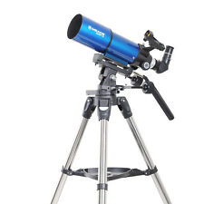New!! Meade Infinity 80mm Altazimuth Refractor Telescopes w/ Red-dot Viewfinder