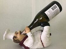 Chef Chardonnay Wine Bottle Holder Kitchen Decor