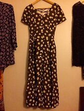Beautiful Ladies Vintage Floral Summer/ Tea Dress VGC Size 12