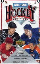 1991/92 UPPER DECK UD HOCKEY BOX LOW Series Unopened 36 packs