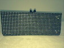 Rhinestone Evening Bag Clutch with Shoulder Strap NEW Gorgeous