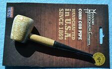 "NIP Missouri Meerschaum Washington ""Rob Roy"" Corn Cob Pipe 6mm Filtered Straight"
