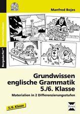 MANFRED BOJES - GRUNDWISSEN ENGLISCHE GRAMMATIK - 5./6. KLASSE