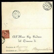 ITALIA - Regno - 1868 - Arrivo Albano Sant'Alessandro -  2 cent. rosso mattone