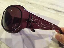 Christian Dior Sunglasses Rinestones DIOR SPIDIOR/F VG2EF BrandNew /Damaged Case