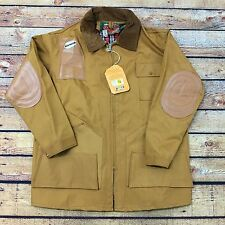 70s 80s VTG NOS HUNTING SHOOTING RUBBERIZED Jacket S FISHING Outdoors Rain