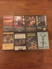 Lot Of 8 Cassette Tapes OJ Simpson Kiss Bruce Springsteen Infectious Grooves LE