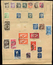 Portugal Album Page Of Stamps #V4011