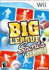 Big League Sports: Summer (Nintendo Wii, 2009)  DISC IS MINT