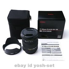 SIGMA lens 17-50mm F2.8 EX DC HSM for Sony APS-C-only 928636
