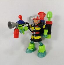 FISHER PRICE RESCUE HEROES ACTION FIGURE WENDY WATERS HYDRO TEAM WITH BACKPACK