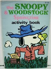 The Snoopy and Woodstock Springtime Activity Book Peanuts