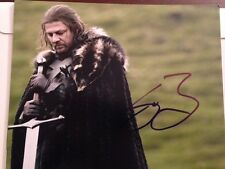 Sean Bean signed autographed 8x10 Photo Game of Thrones In Person
