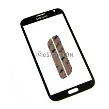 Samsung Galaxy Note 2 II N7100 Glass Touch Screen Lens Digitizer Cover Black