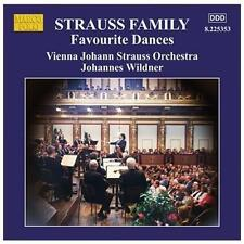 Strauss Family: Favorite Dances, New Music